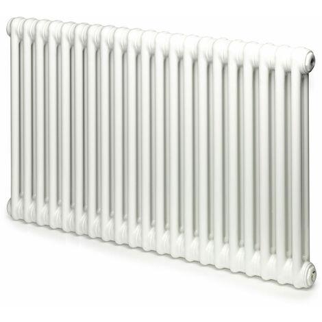 Heatwave Windsor 2 Column Horizontal Radiator 500mm H x 992mm W - 21 Section