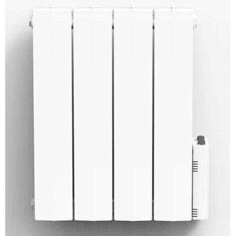 HEATZY 1000 watts Radiateur électrique a inertie fluide caloporteur - Programmable - Thermostat connecté bluetooth blanc