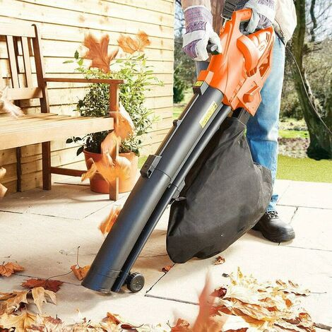 """main image of """"HEAVY DUTY 3200W ELECTRIC GARDEN LEAF GRASS HEDGE BLOWER HOOVER VACUUM VAC NEW"""""""
