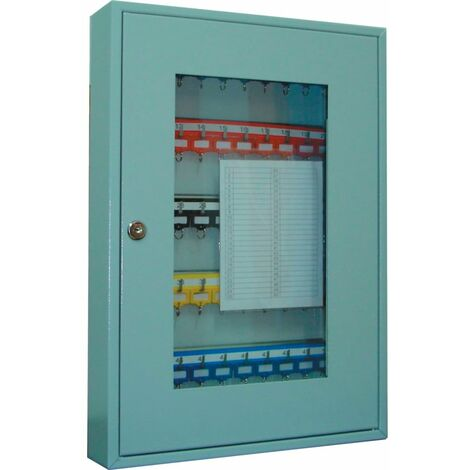 Heavy Duty 50-KEY Cabinet With Perspex Window
