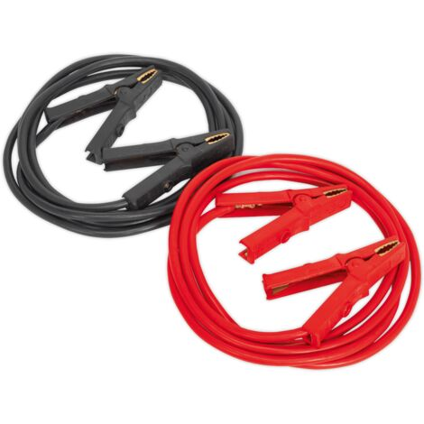 Heavy-Duty Booster Cables 40mm?ý x 5m CCA 600Amp