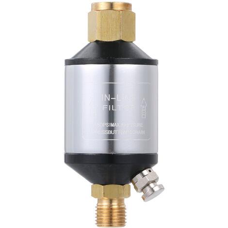 Heavy Duty Compresseur D'Air Filtre Pour Secheuse Pulverisateur Separateur D'Eau Plasma Cutter Conduite D'Air Filtre A Eau Piege