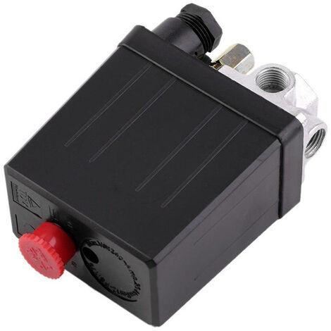 Heavy Duty Compresseur D'Air Pressostat Vanne De Regulation 90Psi-120Psi
