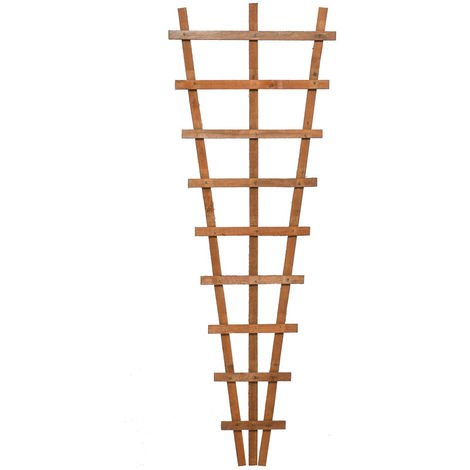 Heavy Duty Fan Trellis Dip Treated ONLY AVAILABLE WITH A PURCHASE OF 3 FENCE PANELS