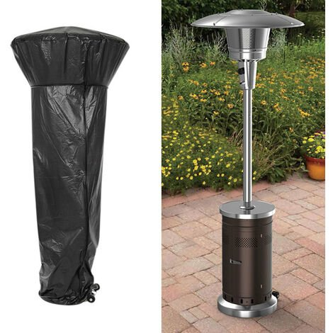 Heavy Duty Garden Patio Heater Rain Cover Polyester Waterproof Protector 180cm