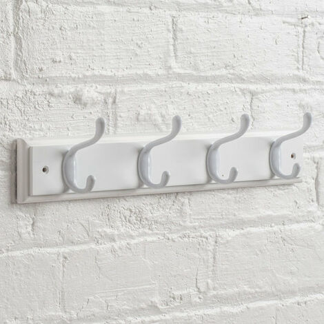 Heavy Duty Hat & Coat Rail - Choice Of Colours & Sizes