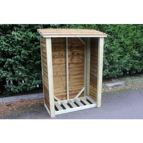 Heavy Duty Logstore 6ft High X 4ft Wide