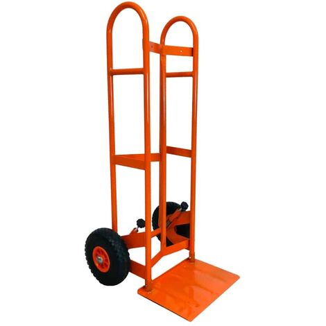 Heavy duty New Gen Mover sack truck hand truck industrial trolley puncture proof tyre - See video