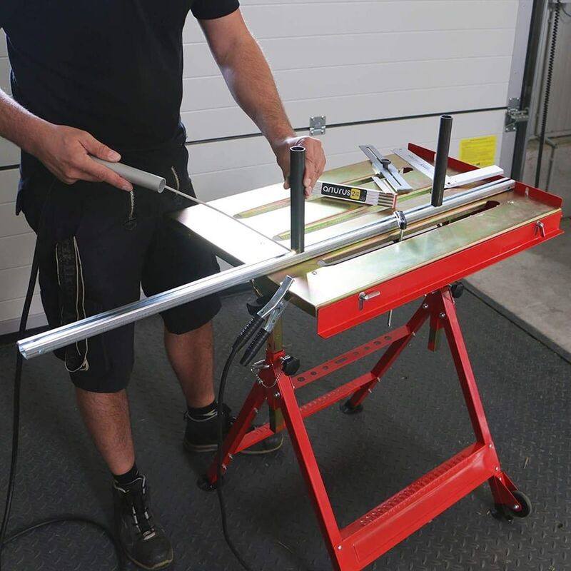 Image of Heavy Duty portable mig tig welding table work bench - Arrows Uk