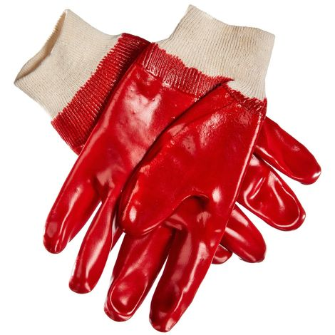 Am-Tech 12 Pack Heavy Duty Mechanic Builders DIY Safety Latex Palm Gloves