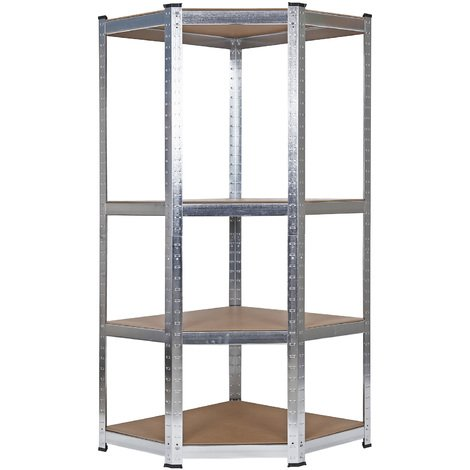 Heavy duty shelving garage racking unit industrial storage corner shelf shed warehouse