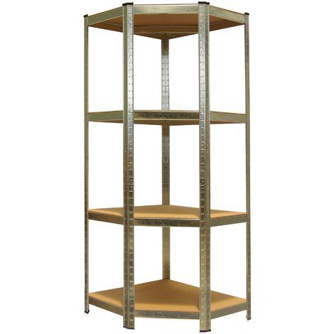 Heavy Duty Shelving Unit Storage Racking Shelf Shelves Boltless Garage 160 x 70 x 70 cm