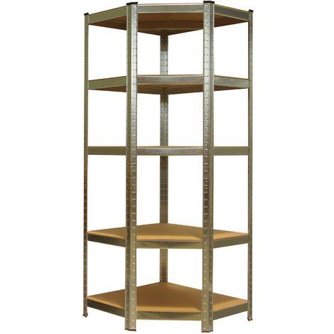 Heavy Duty Shelving Unit Storage Racking Shelf Shelves Boltless Garage 180 x 70 x 70 cm