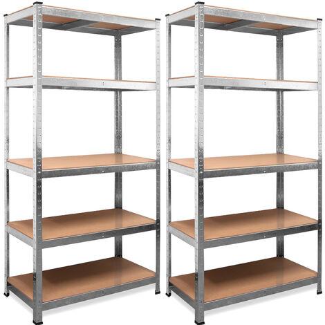"main image of ""Heavy Duty Shelving Unit Storage Racking Shelf Shelves Boltless Garage Tier NEW 5 Tier - 180x90x40cm - Blue"""