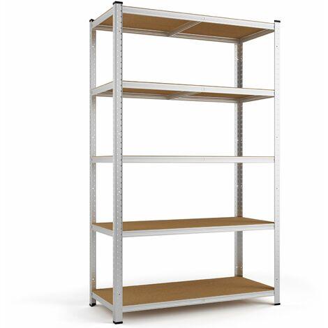"main image of ""Heavy Duty Shelving Unit Storage Racking Shelf Shelves Boltless Garage Tier NEW"""