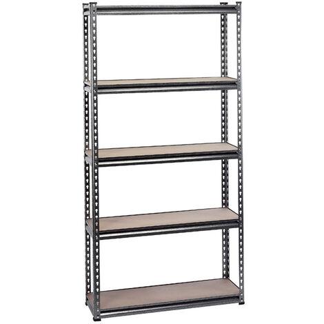 Heavy Duty Steel Shelving Unit - Five Shelves (L920 x W305 x H1830mm)