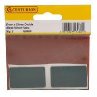 Heavy Duty Sticky Pads - 40mm x 25mm - 2 Pack