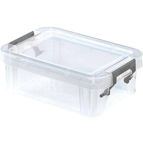 Whitefurze Allstore 0.3LTR 130X90X50MM Storage Box with Lid