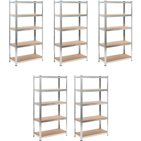 Heavy-duty Storage Rack 5 pcs