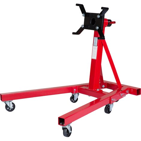 Heavy duty Swivel Transmission Engine Gearbox Mount Support Stand 2000 lbs 900kg