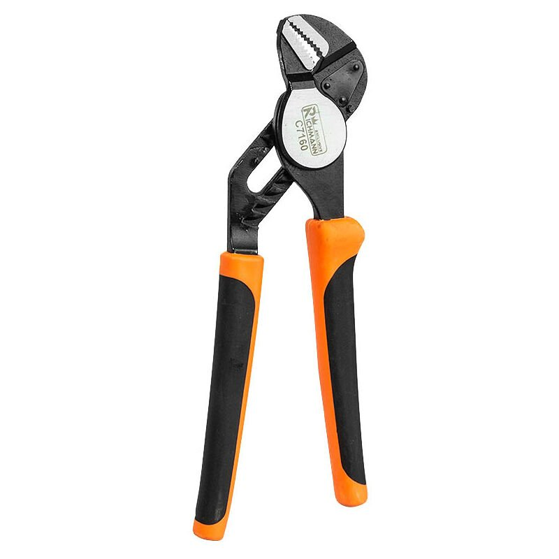Image of duty water pump pipe pliers with automatic spring, non slip (Corona C7160) - Heavy