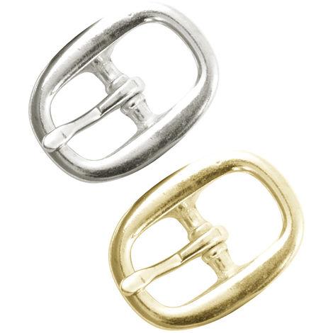 Hebilla de halter en tallas pequeña, mediana y grande en plata y oro AmaHorse