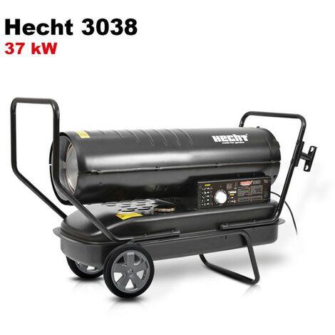 Hecht jardin 3038 Diesel canon à chaleur Chauffage à l'huile 37kW 50Hz 38L Consommation 3,6L/h 26kg
