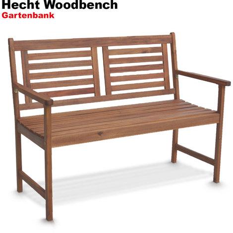 Berühmt Hecht Woodbench Gartenbank Gartenmöbel Bank Parkbank Sitzbank Holz DW14