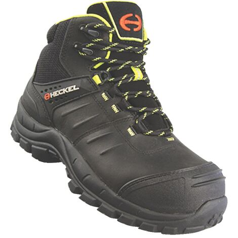 Heckel MacCrossroad Safety Boots, Black