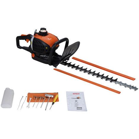 Hedge Cutter, Hedge Trimmer , Orange, Engine displacement: 22.5 cm³