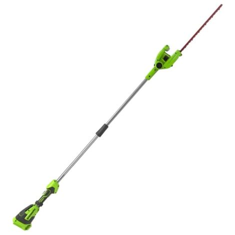 Hedge trimmer 51 cm GREENWORKS 40V - Pole mounted - Without battery or charger - G40PHA
