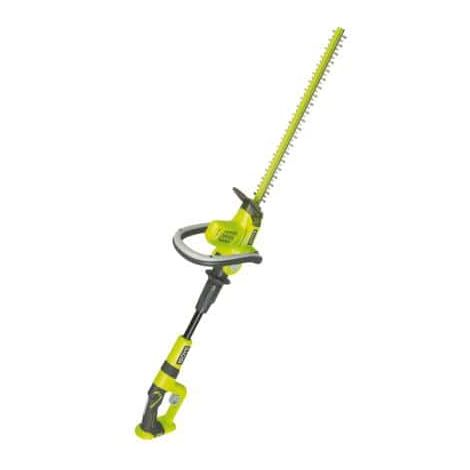 Hedge Trimmers RYOBI 18V OnePlus articulated arm on Lithium-ion battery and no charger OHT1850X