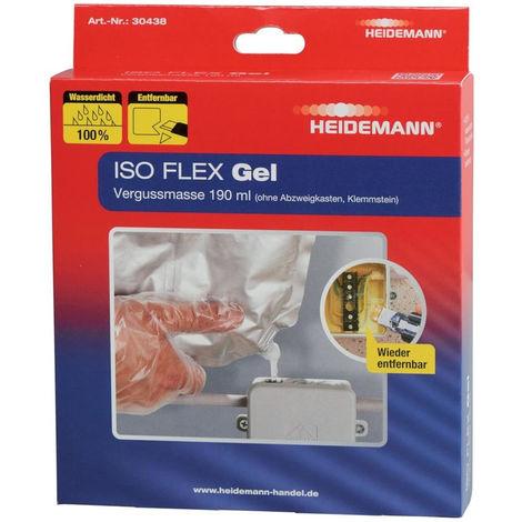 Heidemann ISO FLEX Gel Vergussmasse 190 ml