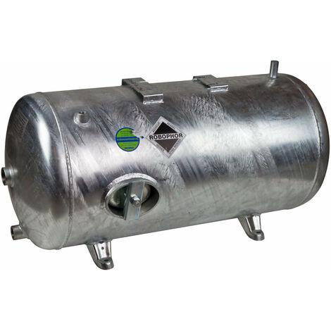 Heider Robophor Druckkessel 150L 6bar Druckbehälter liegend für Kolbenpumpen