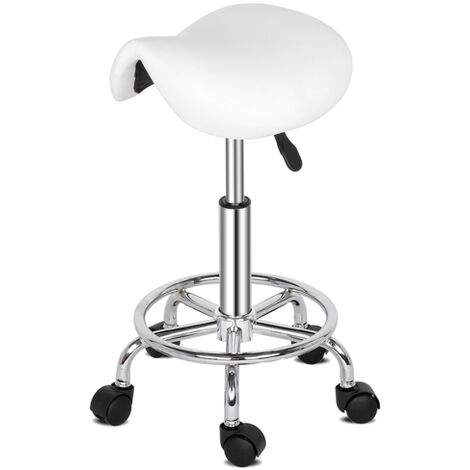 Height Adjustable Swivel Cuban Bar Stool - Different colours