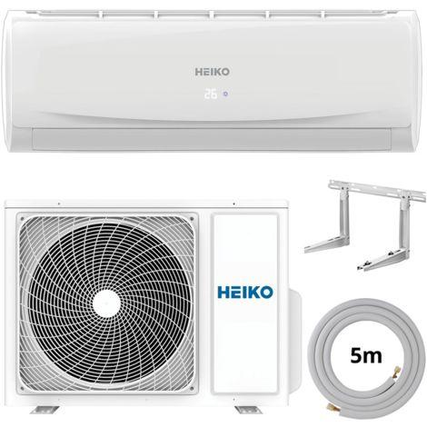 HEIKO Klimaanlage R32 Wandgerät 5m komplett 3,6 kW SET