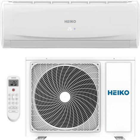 HEIKO Klimaanlage R32 Wandgerät 7,0 kW SET 1/4 - 1/2