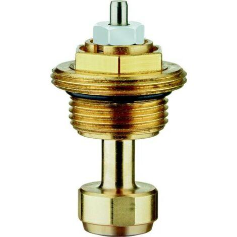 HEIMEIER Thermostat-Oberteil für VHK Bauschutzk., M22x1,5, m. Voreinst.,weiß