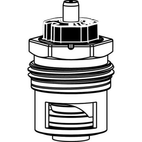 HEIMEIER Thermostat-Oberteil V-exact II beidseitig anströmbar für DN 10, 15, 20