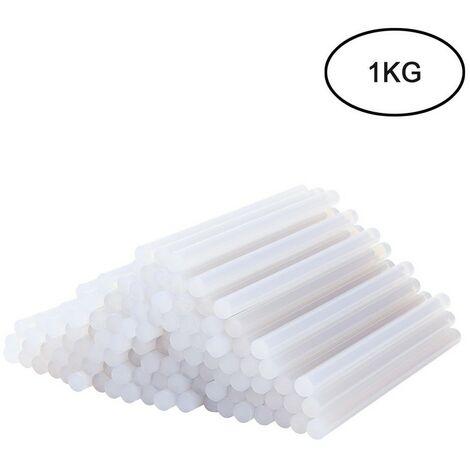 Heißkleber Sticks Standard Ø11 mm 1KG 55 Stück Transparent DIY Klebesticks Heißklebesticks Heißklebestifte Heißklebepatronen