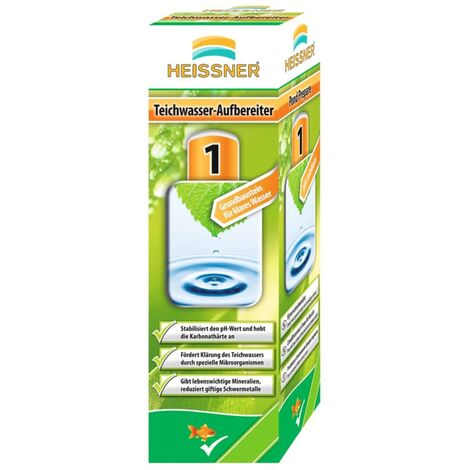HEISSNER Estabilizador de agua de estanque 250 ml