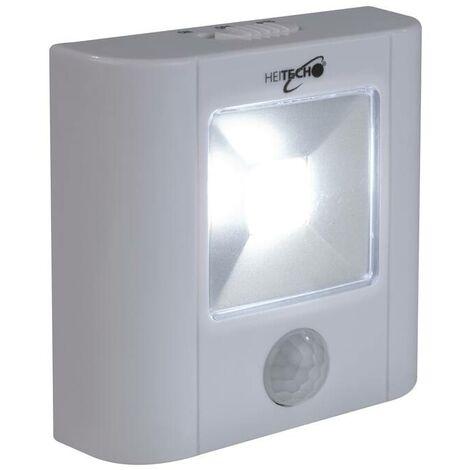 Heitech Lumière LED COB détecteur de mouvement à piles
