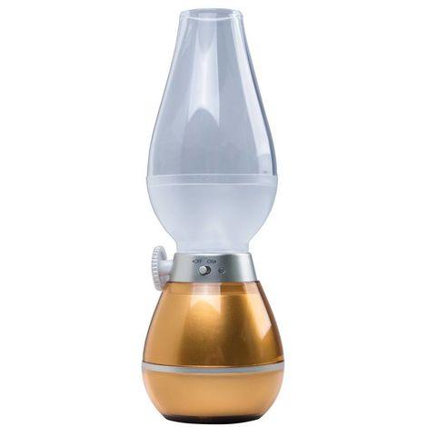 Heitronic LED Campingleuchte Tina mit 3 neutralweißen SMD LEDs, dimmbar