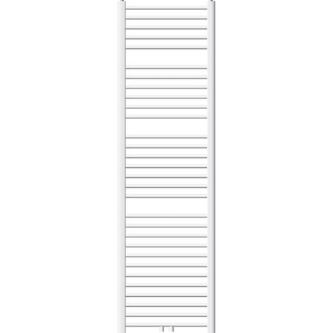 Heizkörper Badheizkörper ECD Germany Modell Sahara 500 x 1800 mm weiss gerade mit Mittelanschluss Handtuchhalter