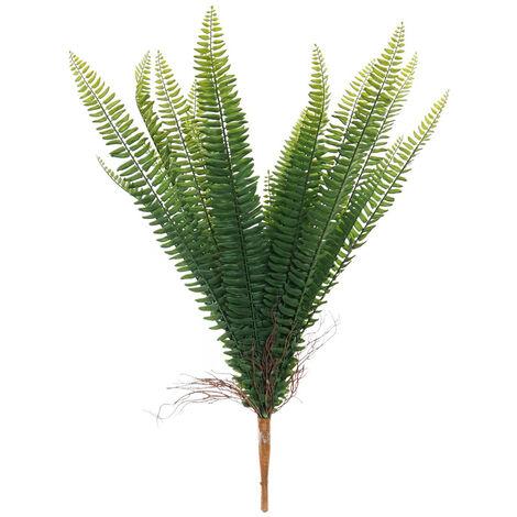 Helecho Planta Decorativa, Plantas Artificiales. Decoración Helecho Ramas Decorativas 44X44X67 cm