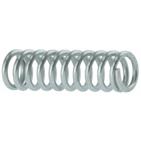 Helical compression spring DIN 2095 Spring steel Zinc plated