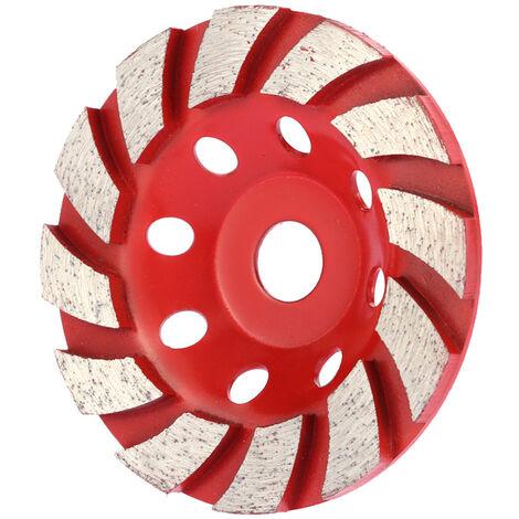Helical grinding wheel, thick diamond grinding wheel, aperture 16mm