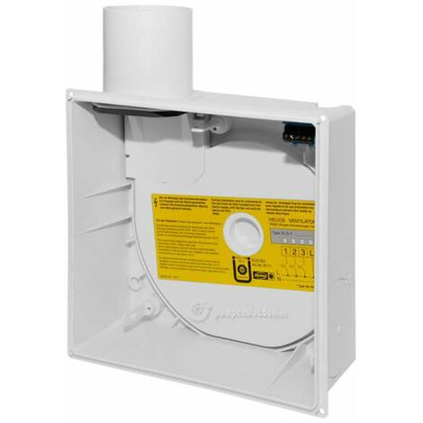 Helios ultraSilence Unterputzgehäuse ELS GU 8111 (für Helios ELS Ventilatoreneinsätze 8131)