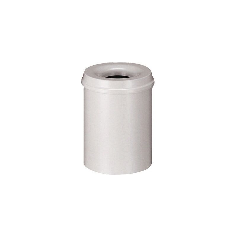 /Ø 20cm x H 27cm Papierkorb rund braun
