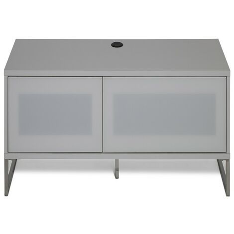 """main image of """"Helium White Floor or Wall Mounted TV Cabinet Stand Unit For Up To 55"""" Screen"""""""